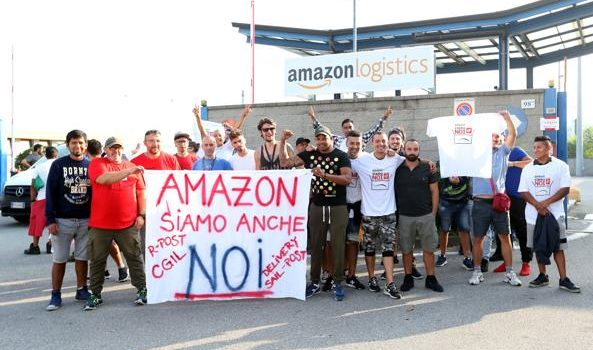 Amazon, scioperano i corrieri in Lombardia