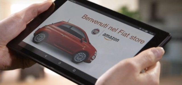 Amazon si accorda con Fiat per vendere auto ed accessori