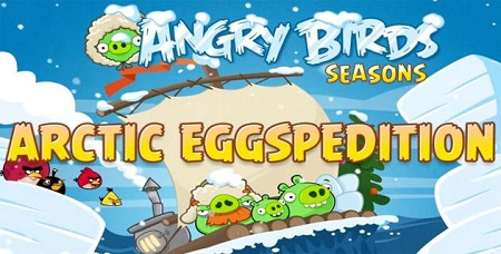 Angry Birds Seasons Natale 2013: espansione Arctic Eggspedition