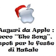 "Auguri da Apple : ecco ""The Song"", spot per le feste di Natale"