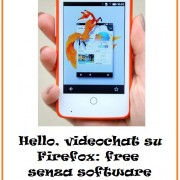 Hello, videochat su Firefox: free senza software aggiuntivi, plug-in o account