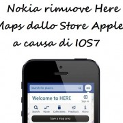 Nokia rimuove Here Maps dallo Store Apple a causa di IOS7