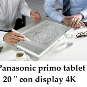 "Panasonic primo tablet 20 "" con display 4K: in Italia"