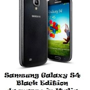 Samsung Galaxy S4 Black Edition da marzo in Italia