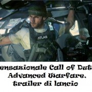 Sensazionale Call of Duty: Advanced Warfare, trailer di lancio