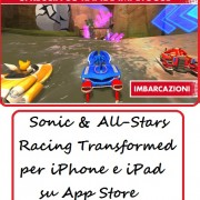 Sonic & All-Stars Racing Transformed per iPhone e iPad su App Store