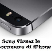 Sony firma le Fotocamere di iPhone 6?