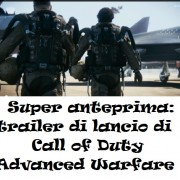 Super anteprima: trailer di lancio di Call of Duty Advanced Warfare