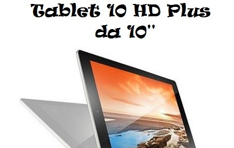 Tablet Android Lenovo Yoga Tablet 10 HD Plus da 10""