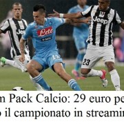 Offerta Tim Pack Calcio: 29 euro per tutto il campionato in streaming