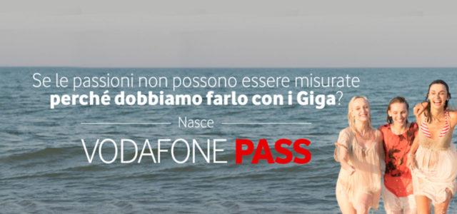 Vodafone, imperdibile offerta con Pass Music