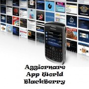 Aggiornare App World BlackBerry