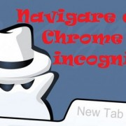 Navigare con Chrome in incognito