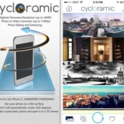 iPhone 5S registrare immagini a 360° con l'app Cycloramic