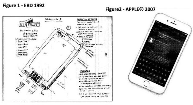iPhone, Apple ha copiato un brevetto del 1992?