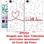 iPhone e Regali per San Valentino: arrivano accessori In Love da Puro