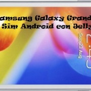 Samsung Galaxy Grand, Dual Sim Android con Jelly Bean