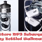 Lettore MP3 Subacqueo Sony Bottled Walkman
