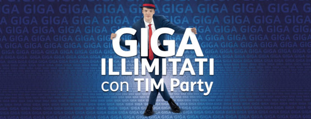 Tim Party, giga illimitati per i suoi clienti